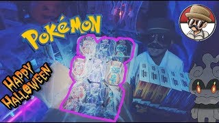 Opening New Mysterious Powers Tins!! Carls SPOOKY Shipment! Do we open Marshadow? Ho oh? Necrozma?