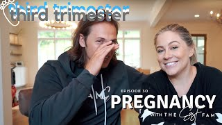 things are getting weird: third trimester | the east family