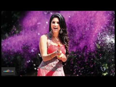 Hot And Sultry Sunny Leone Shows Her Colourful Side For Holi! - Toi video