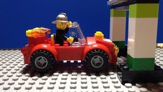 LEGO set 10661 Fire Station: Review & Stop Motion