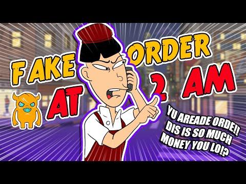 Asian restaurant prank call