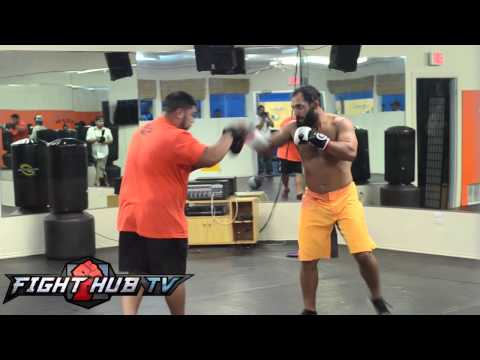 Georges St-Pierre vs. Johny Hendricks: Hendricks work out video Image 1