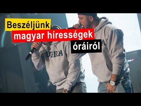 Beszéljünk órákról: magyar hírességek órái