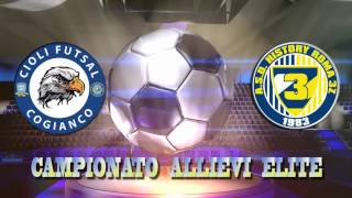 Calcio a 5, Allievi Elite: Cioli Cogianco - History 3Z, highlights e interviste