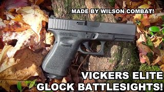 Vickers Elite Glock Sights!  Battlesight by Wilson Combat