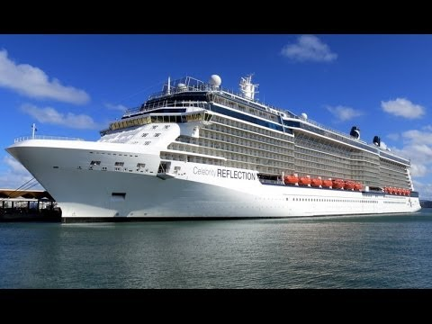 Celebrity reflection cruise ship location