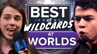 Best of Wildcard Teams at Worlds: From Albus NoX Luna to GIGABYTE Marines (League of Legends)