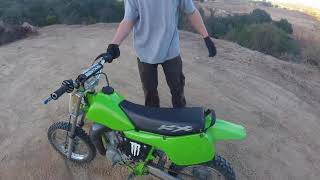 First time riding a Dirt Bike!