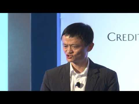 Jack Ma: E-commerce in China and Around the World