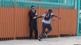 FBI Prank GONE WRONG! - Funny Hood Pranks in Public