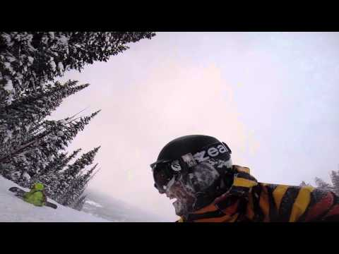 Keystone Powder Day Feb 2014