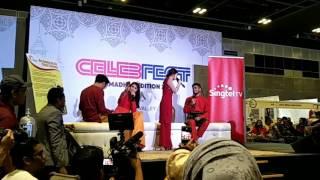 CelebFest 2017 - Ayda & Redza Live singing and dance