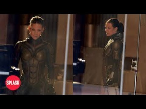 Evangeline Lilly Appears in Full Costume as The Wasp | Splash TV