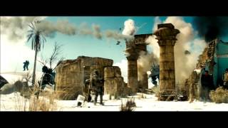 Transformers 2 Desert Battle Scenes and Military Scenes Tons of Explosions
