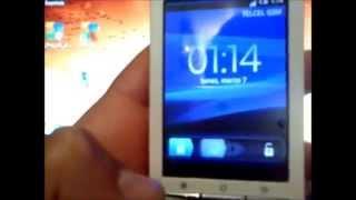 actualizacion android de 1.6 a 2.1 en Xperia® X8