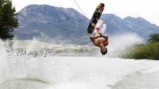 Not your average waterskiing with Nikolas Plytas