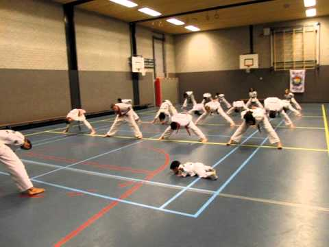 Joël's Tang Soo Do training (one year old) Image 1