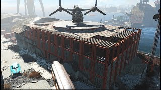 Fallout 4 - Boston Airport - Brotherhood of Steel Base