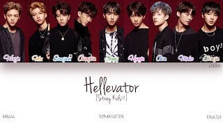 download lagu Hanromeng Stray Kids - Hellevator Color Coded gratis