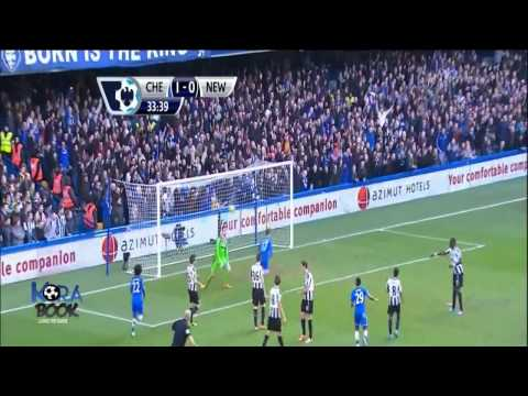 Chelsea VS Newcastle United 3 - 0  Eden Hazard