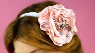 Как сделать повязку на голову своими руками