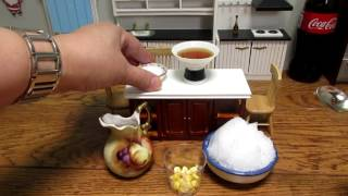 Miniature cooking :Mini food recipes - Mais con Yelo - Tiny edible food small kitchen recipes