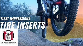 MYNESWEEPERS First Impressions   My First Set of Tire Inserts