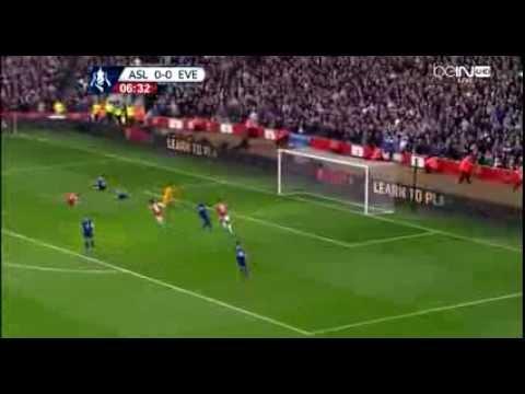 Arsenal Vs Everton 4-1 All Goals & Highlights (08/03/2014) HD