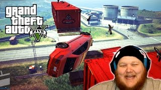 GTA 5 Online PC | MARIO RPGs vs ARMORED CARS | GTA 5 Funny Moments