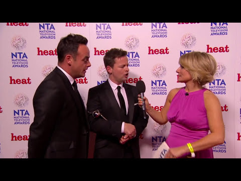 Ant and Dec Interview National Television Awards 2014