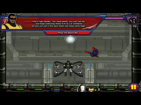 Spiderman Cartoons Full Episodes: Ultimate Spider-Man Iron Spider - Full Movie Games 2014 HD