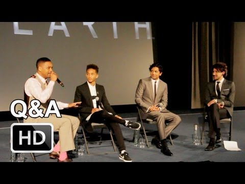 After Earth - Q&A With Will Smith, Jaden Smith And M Night Shyamalan | The Upcoming