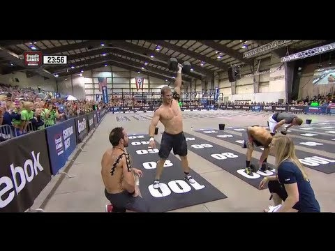 CrossFit - Central East Regional Live Footage: Men's Event 4