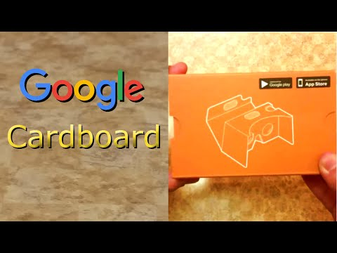 The Cheapest Way Into Virtual Reality! GOOGLE CARDBOARD Only $10 - Unboxing - The Reviews Dude