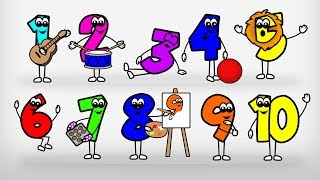 Counting 1-10 Song for Kids - Learn to Count 1-10 - Numbers for Kids 1 to 10 for Preschool