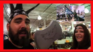 Vlogging at Taylor Town Comic Con 2015