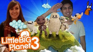 Little Big Planet 3 Gameplay | PICKLES!!!