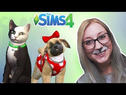 Testujemy PSY I KOTY! - The Sims 4