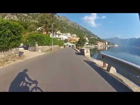 Montenegro: Kotor - Tivat by bicycle