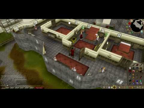 Doing the end of Runescapes Underground Pass quest Video