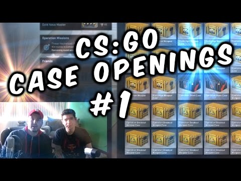 CS:GO 36 Case Openings Ft. Aleksandr Pt. 1 of 2