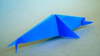 Origami Dolphin Instructions: Www.origami-fun.com