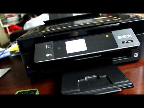 Overview of the Epson XP 410