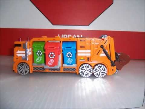 TOY GARBAGE TRUCK TIME! - Toy garbage trucks collection.