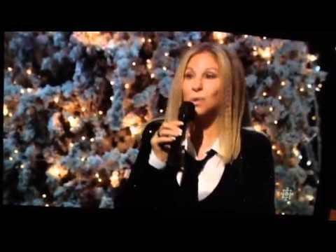 Barbra Streisand on Michael Buble Dec 16,  2014