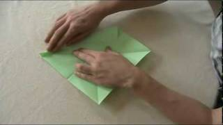 Origami Vogel - Flapping Bird - Faltanleitung - Tutorial - Easy!