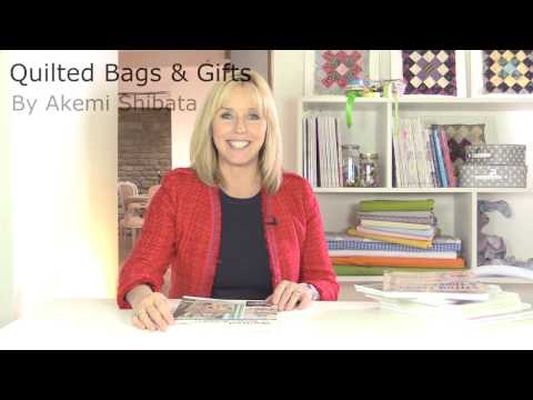 Quilted Bags and Gifts a book review by Debbie Shore