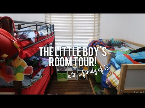 The Little Boy's Room Tour with a Family of 13