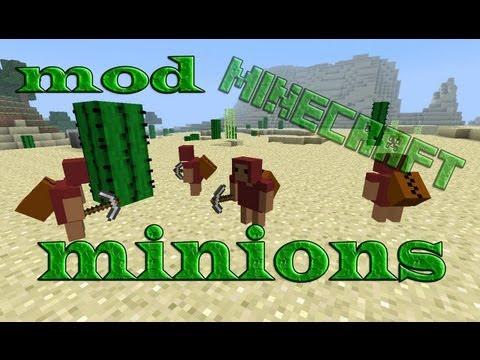 Como instalar: The Minions Mod Para Minecraft 1.5.2