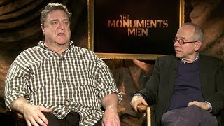 John Goodman and Bob Balaban Interview - The Monuments Men (HD) JoBlo.com Exclusive
